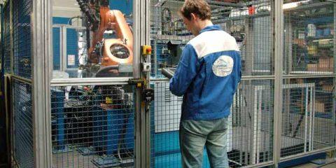 Kuka Industrieroboter Programmierung