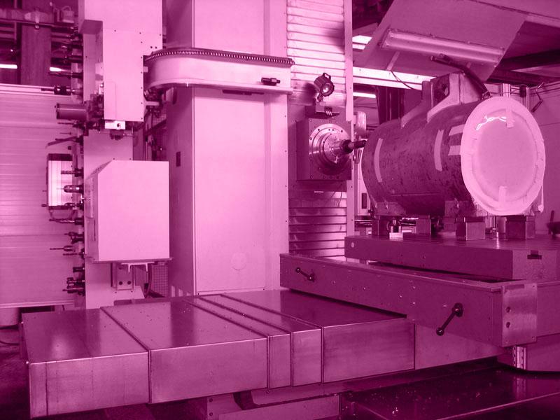 Lohnfertigung, Bohrwerksbearbeitung, Lohnzerspanung, 47441 Moers / NRW