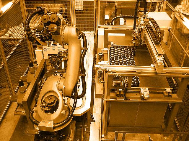 ABB und KUKA Royboteranlagen, Systemintegrator NRW, Roboterprogrammierer