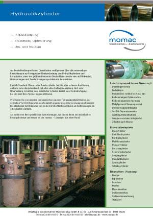 Instandsetzung von Hydraulikzylindern