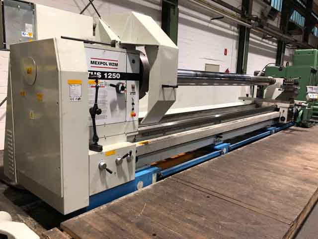 Drehbank Mexpol 1250 Werkzeugmaschine bei der momac Moers