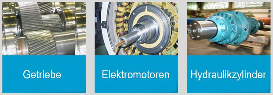 momac Group - Instandsetzung von Getrieben, Elektromotoren und Hydraulikzylindern sowie Hüttentechnik
