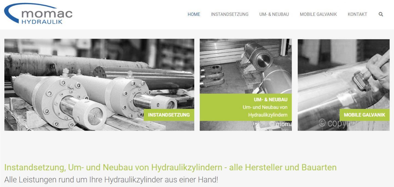 Instandsetzung / Reparatur von Hydraulikzylindern
